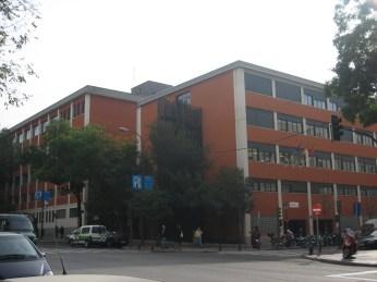 El edificio en la actualidad. Esquina Goya con Claudio Coello.